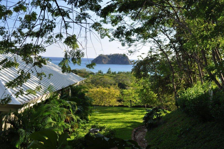 View of Playa Samara and Isla Chora From the Casita