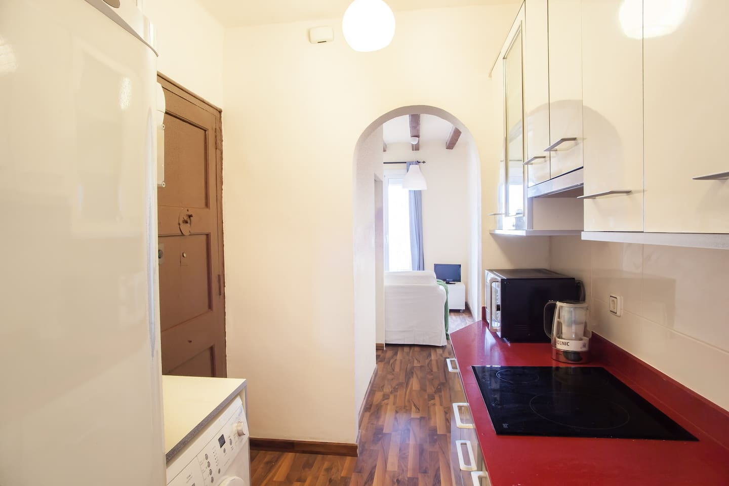 central small budget apartment