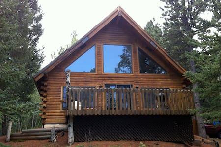 Family Built Cabin In Cripple Creek - Blockhütte