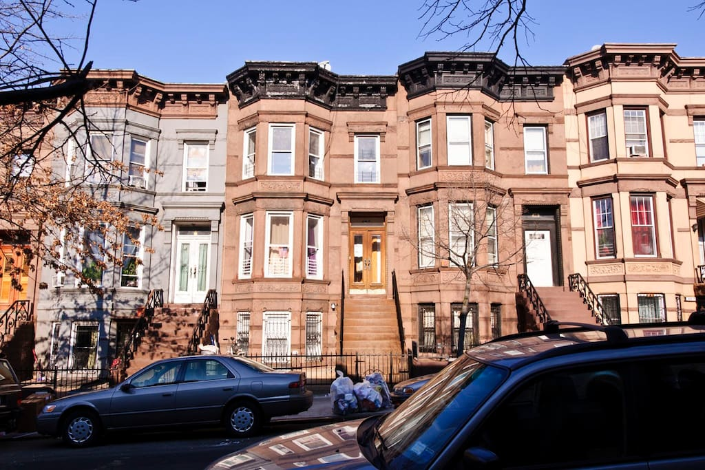 Historic Brownstone Row Houses