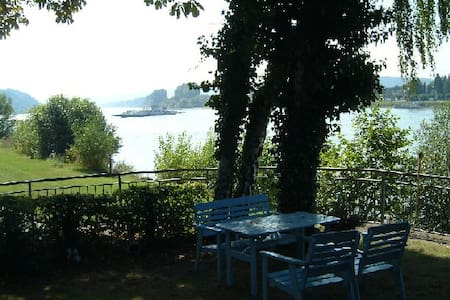 lovely apartment direcly rhine view - Linz am Rhein - Apartment