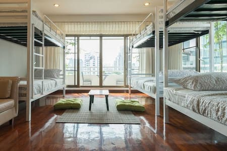 1 Bed in a share room (6 beds) #01 - Apartament