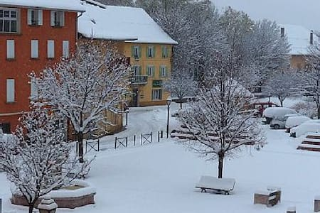 studio centre village de jausiers - Appartement