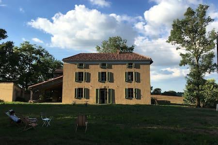 Ferme rénové - Gers du Sud, près de Marciac - Rumah