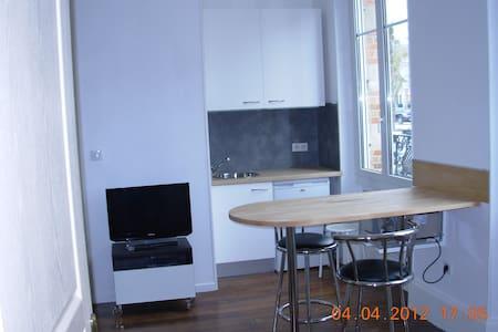 Studio meublé, équipé, wifi, proche CV. - Châlons-en-Champagne - Lejlighed