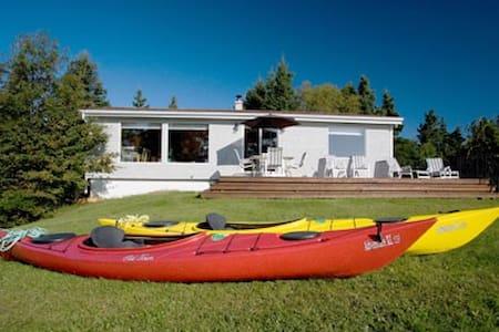 Oak Cottage direkt am Atlantik - Mahone Bay - Talo