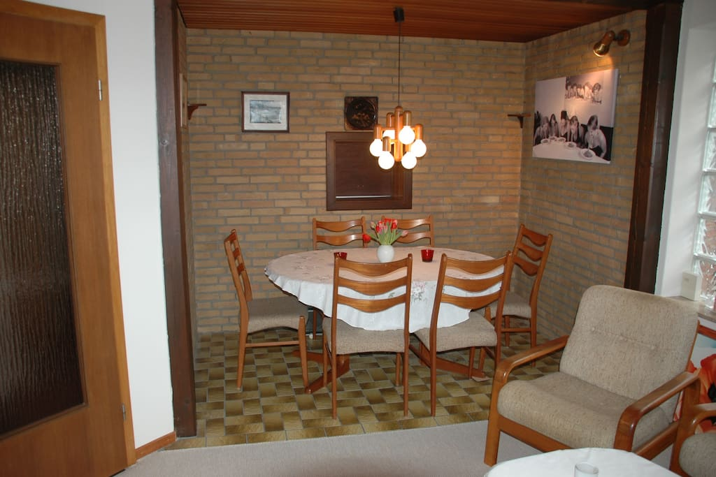 dining area in the living-room