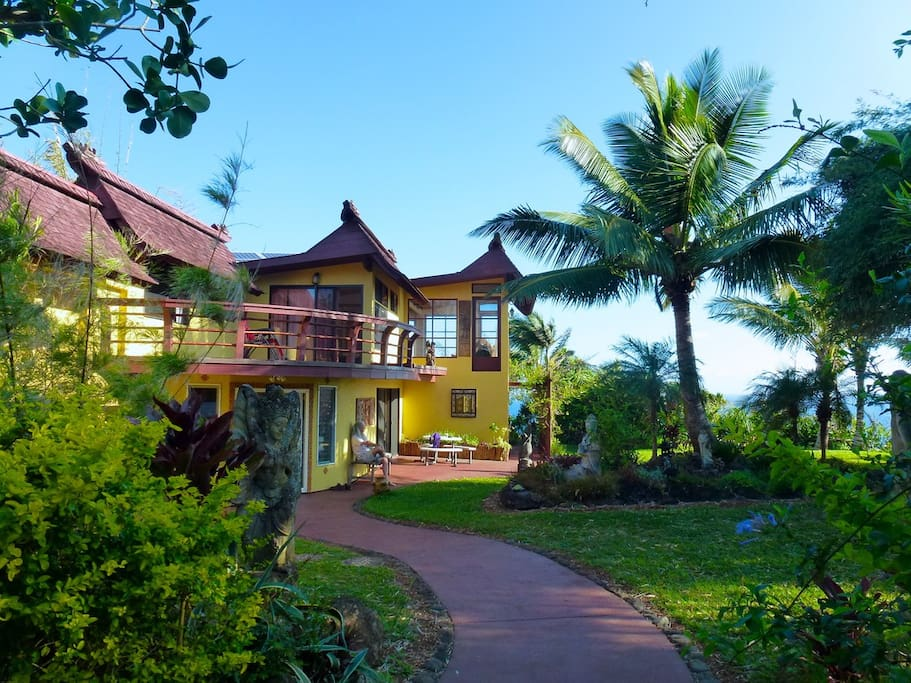 Live Elegantly Green! Our main house also known as OPUA house.