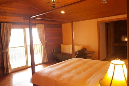 ✿  Double balcony Garden view room  - 官田鄉 - Bed & Breakfast
