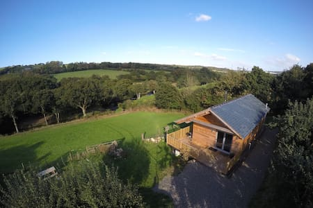 Kingfisher Cabin, Butterwell Farm - Nanstallon - Cabaña
