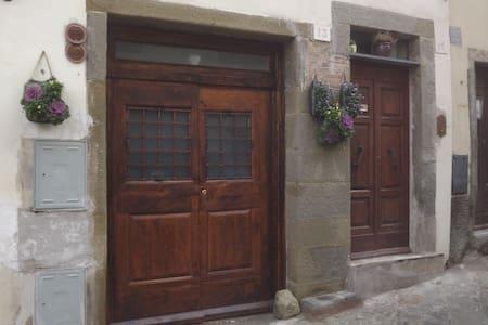 Fascinating apartment in Cortona