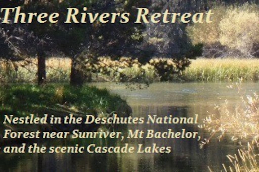 Spring and Summer months offer water access to the Big Deschutes River from your private dock.