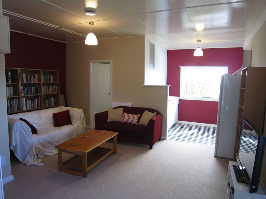 Lounge area looking towards kitchen