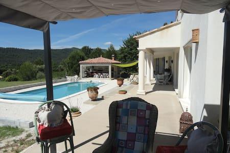 Maison de charme,piscine,pool house - Camps-la-Source