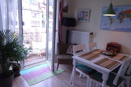 super zentrale, gemütliche Wohnung mit Balkon - Wohnung