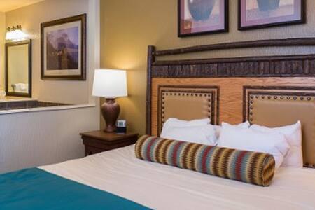 Glacier Canyon 1 Bedroom Deluxe Condo - Condominium