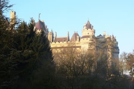 Suite, seen on castle Pierrefonds - Pierrefonds - Haus