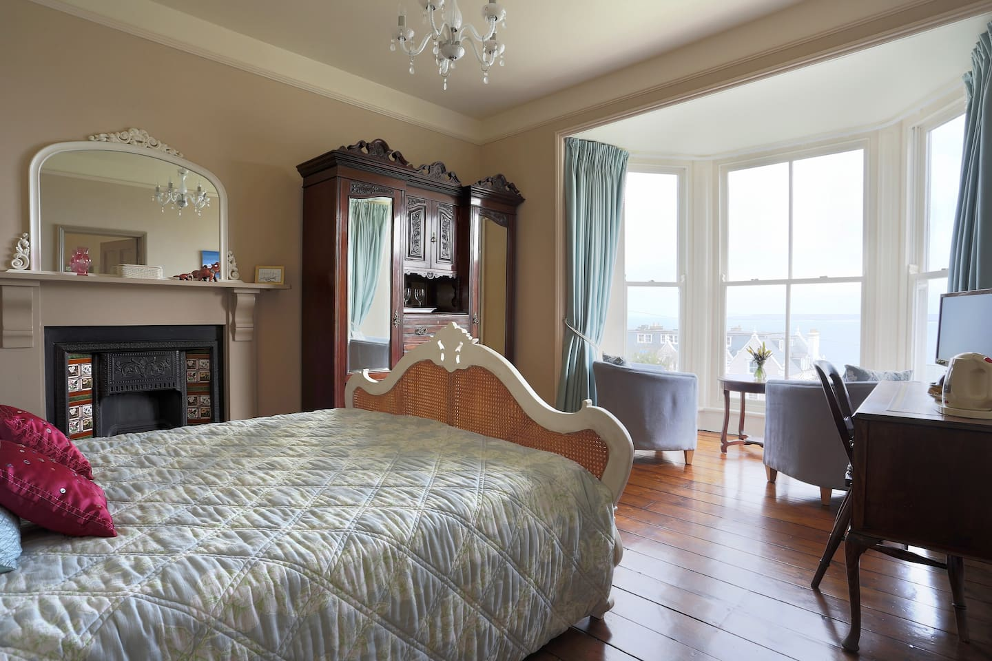 Enjoy the spectacular view of the Cornish coast from your room