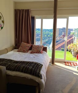 Amazing panoramic view - private roof terrace - Bristol - Apartment