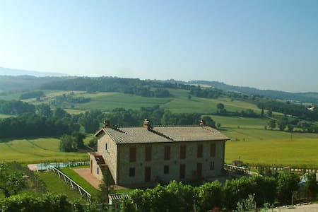 Near Todi appartment with swim pool - Apartment