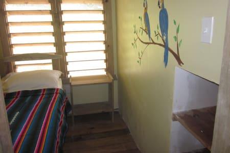 Single loft room in Roatan hostel - Sandy Bay - Andre