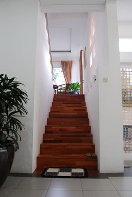 The Stair to the first floor.