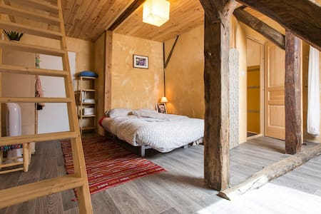 2 ch/4pers B*B for family and table d'hôtes - Bed & Breakfast