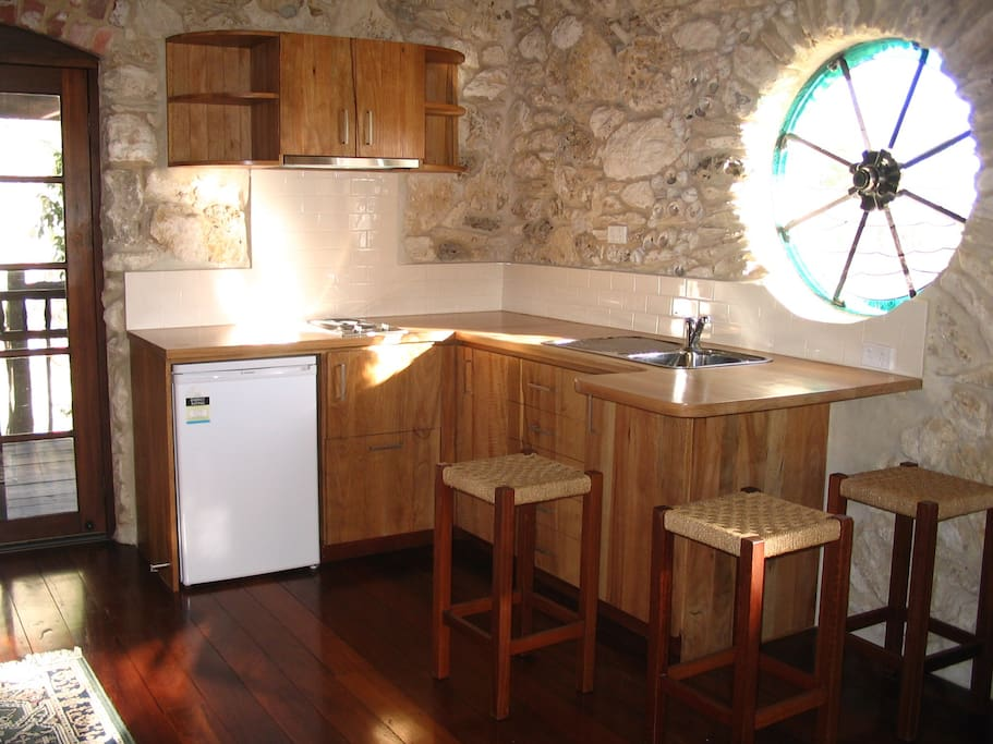 Marri kitchen/living area