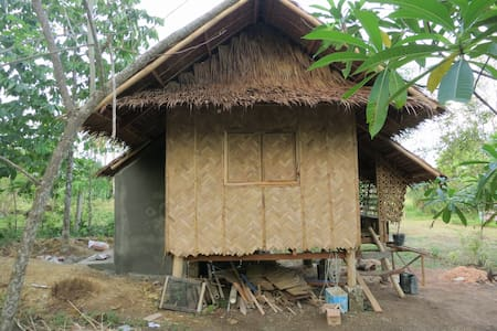 Authentic Bahay Kubo on a farmlot - Kabin