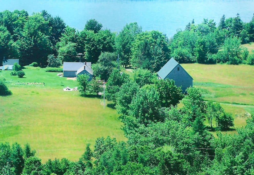 Aerial of Kendall Farm