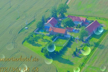 Bauernhof in Alleinlage am Waldrand - Wohnung