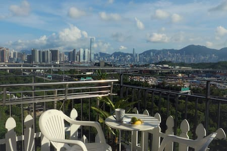 Room with 180° view in Traditional Home - Hong Kong - Leilighet