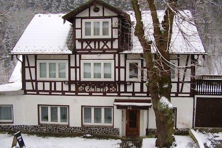 Einzelzimmer im Thüringer Schiefergebirge - Gräfenthal - Aamiaismajoitus