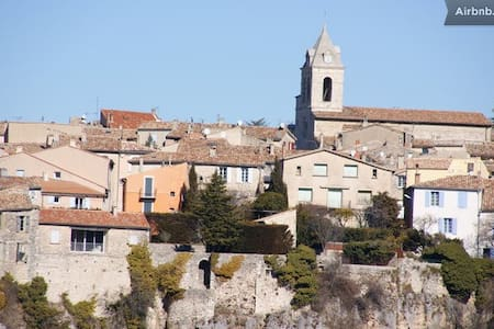 Private Room in Provence (N°2) - Sault - Bed & Breakfast