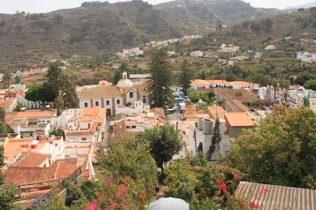 Haus mit Dachterasse+Garten in Teror, Gran Canaria - Teror