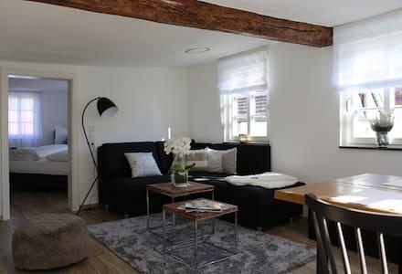 Wohnung Tuchereck im kernsanierten Fachwerkhaus - Michelstadt - Appartement