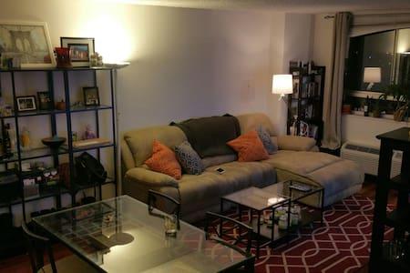 Minutes from Manhattan comfy 1BR/BA - 公寓