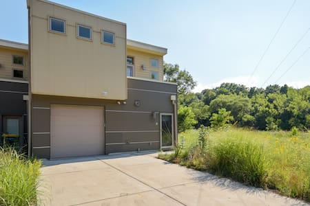 Miller Beach Nature Get Away in Modern Townhome - Reihenhaus