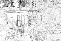 Schäferwagen auf Hof Schwarzes Moor