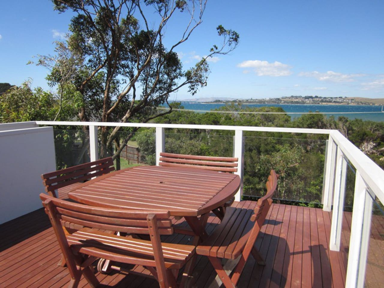 top deck view - perfect for happy hour and star gazing!