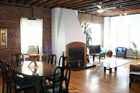 Huge Luxury Loft Share Downtown JC - Jersey City - Loft