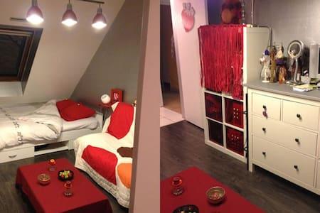 pte chambre 15 m2 louée à la nuit - Digione
