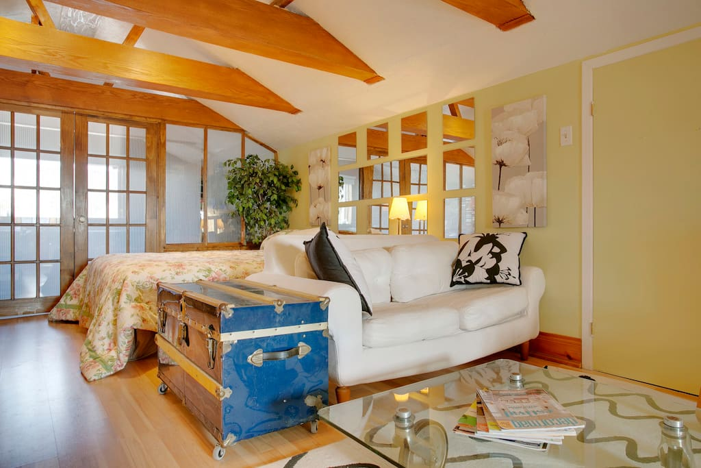 Loft at 25 minutes from Montreal