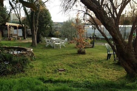 Maison avec piscine 7km centre Ales - Mons