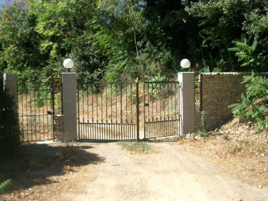 Back drive & gates