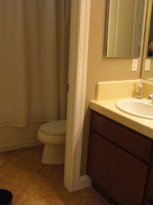 Private Bathroom with Tub/Shower