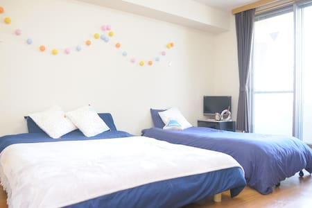 Shinjuku 5mins + Free pocket wifi! - Shibuya-ku - Apartment