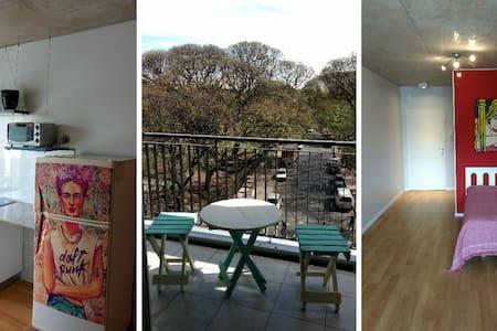Beautiful and New Studio Av. Corrientes Pool&Gym - Appartamento