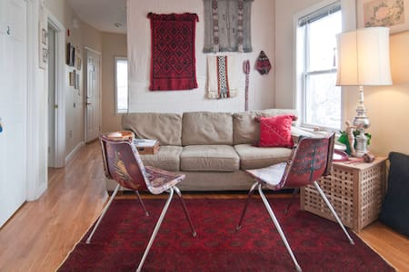 Sunny Centrally Located Single - Somerville - Wohnung