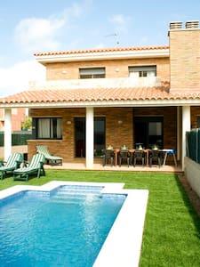 PRIVATE HOUSE SWIMMING POOL&BEACH*3 - Roda de Barà - House